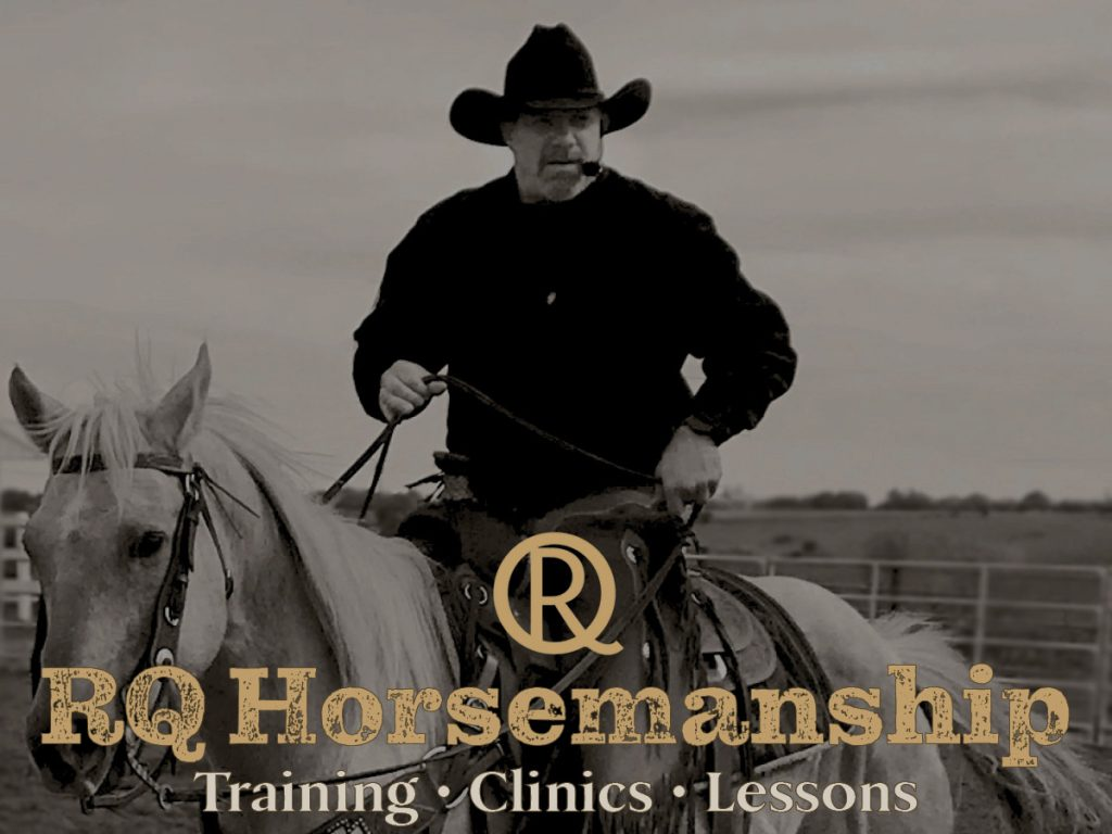 Home page photo for RQ Horsemanship's website